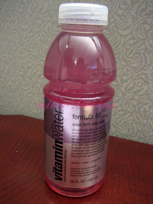 Vitamin Water - Formula 50 - nitrolicious.com