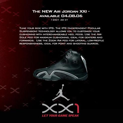 New Air Jordan XXI – Coming Tomorrow At Eastbay.com!