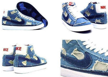 hot sale online d6ee0 cf0d7 Women s Nike Blazer Mid – Denim