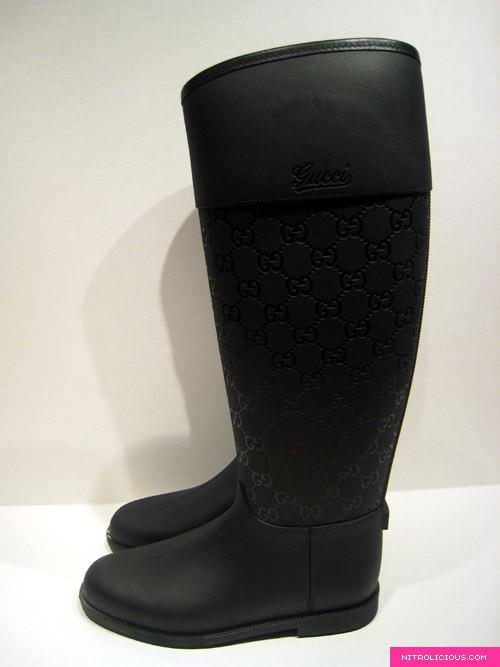 Popular Gucci Women  Edimburg GG Rain Boot  248516J87108367