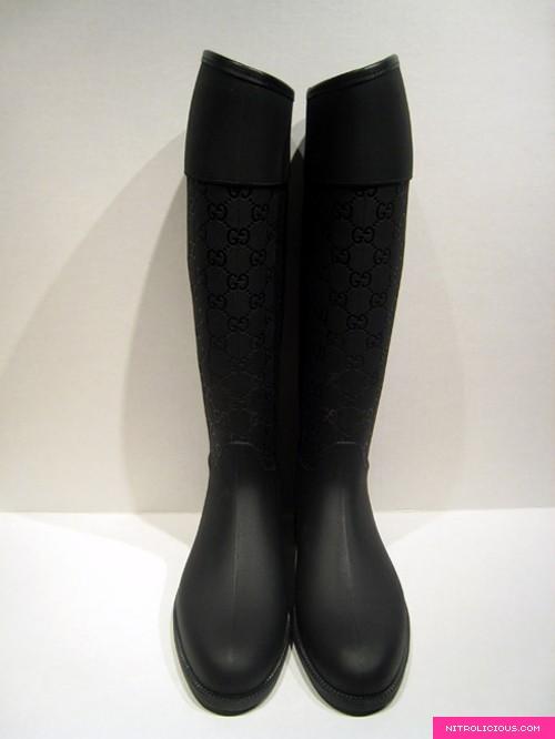 Gucci Rain Boots - nitrolicious.com