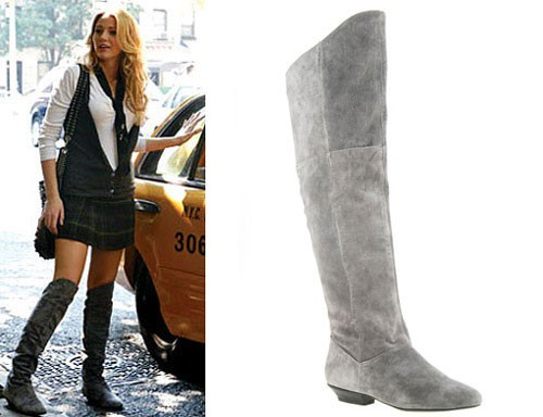 Chinese Laundry Top Over-The-Knee Boots – GREY!