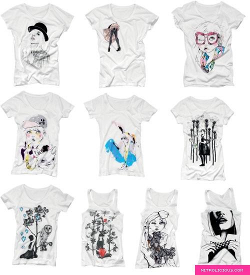 H&M Divided Art T-Shirts & Tanks