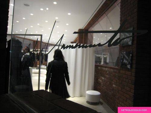 Yohji Yamamoto & Y-3 Joint Store Opening Event