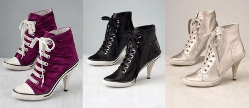 Ash High Heel Sneakers