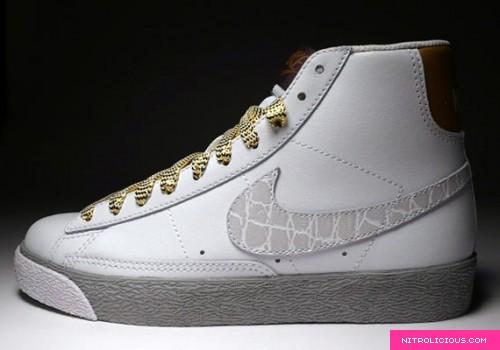 Nike WMNS Blazer High – 'Metallic Croc'