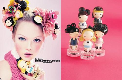 Harajuku Lovers Frangrance Collection by Gwen Stefani