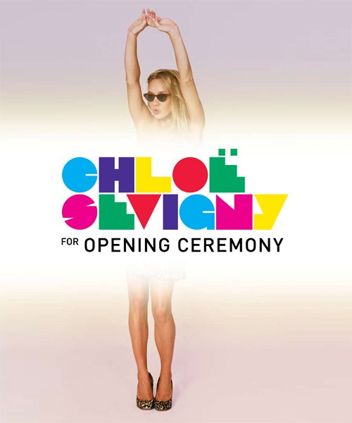Chloë Sevigny for Opening Ceremony – Men's Collection