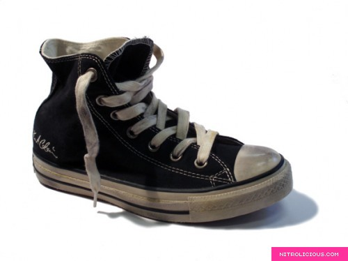 converse x kurt cobain – one star signature distressed edition
