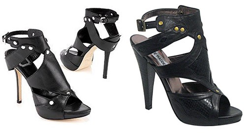 Sex and the city gladiator shoes