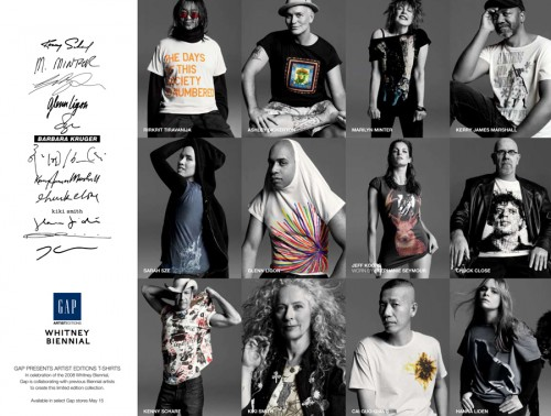 GAP Artist Editions T-Shirts – Collection Preview
