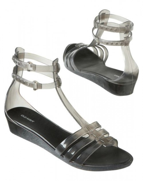 Old Navy Ankle Strap Gladiator Jelly Sandals