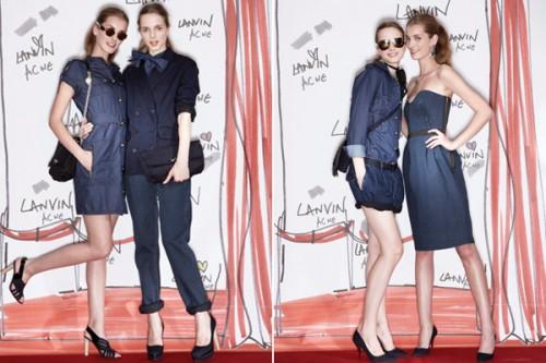 Lanvin x Acne Jeans Collection Preview