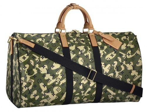 "Louis Vuitton x Takashi Murakami ""Monogramouflage"" Keepall 55"