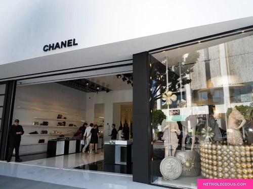 Chanel Robertson Blvd Boutique
