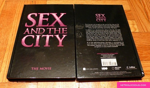 Sex and the city movie the book