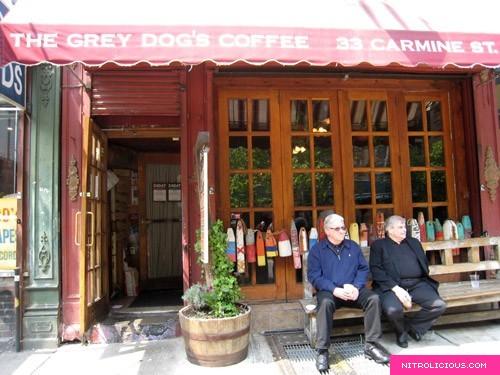 Grey Dog Bedford And Carmine : The grey dog s coffee nitrolicious