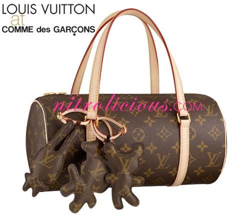 Louis Vuitton at COMME des GARCONS Collection