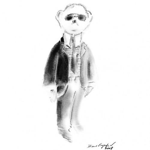 "Karl Lagerfeld X Steiff - ""Couture"" Teddy Bear"