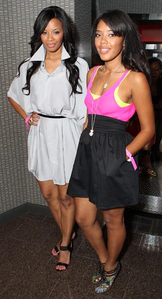 Vanessa and angela simmons