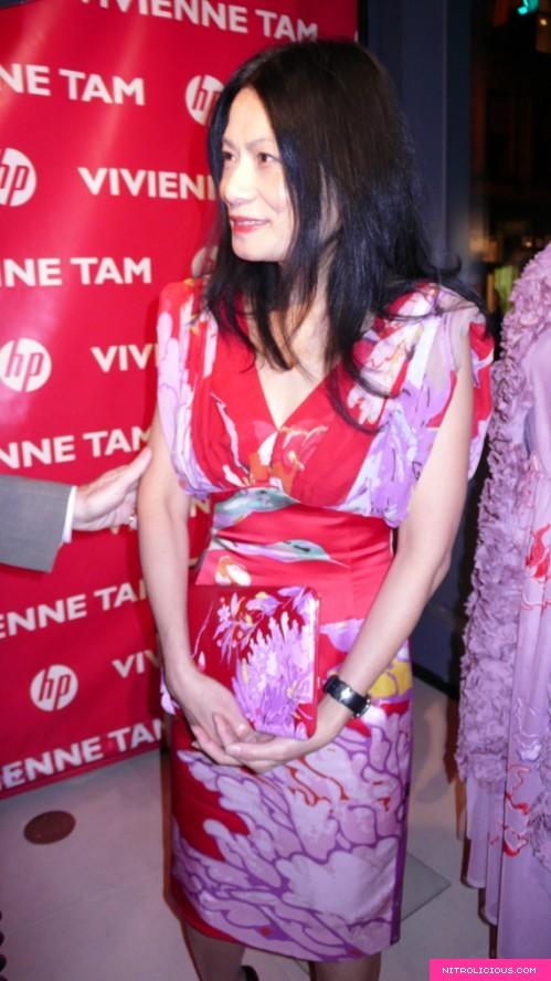 Vivienne Tam x HP Live Blogging Stations