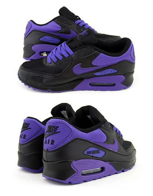 Nike Air Max 90 Purple And Black