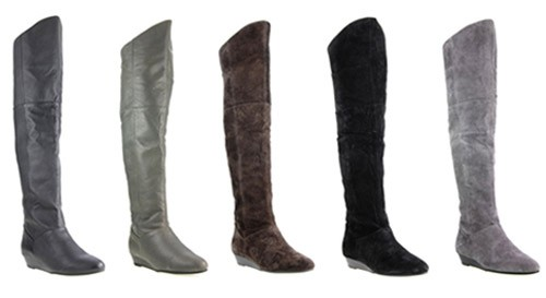 Chinese Laundry Turbo Over-The-Knee Boots