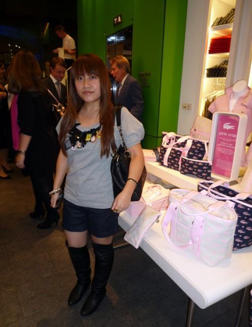 Lacoste x VOGUE Pink Croc Collection Launch Event
