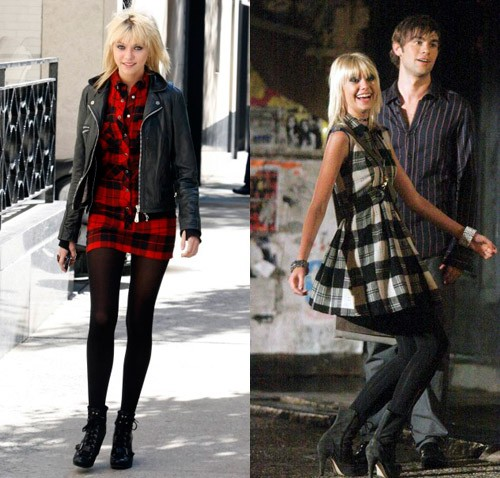 Gossip Girl Fashion: Taylor Momsen Rockin' Nine West