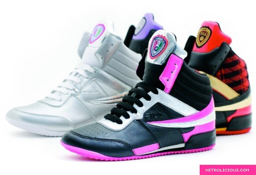 Fila Castlerock/Lime Punch/Neon Pink Finest Hour Womens Shoes | Moy100