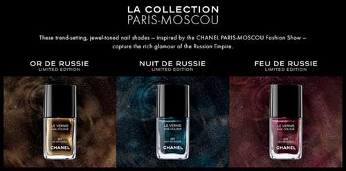 Chanel La Collection Paris Moscou Nail Polish - nitrolicious.com