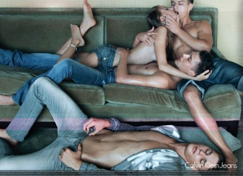 Calvin Klein Jeans Racy Commercial