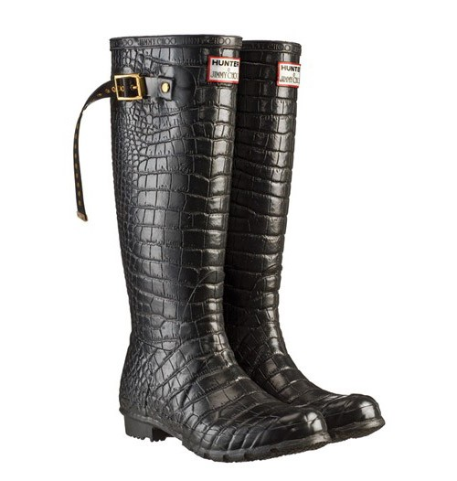 Jimmy Choo x Hunter Wellington Boots