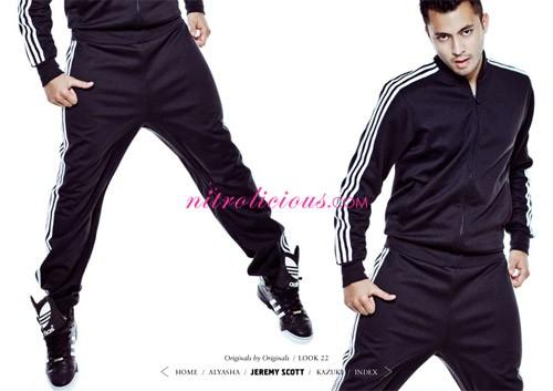 jeremy scott adidas tracksuit