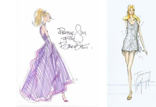 barbie sketches