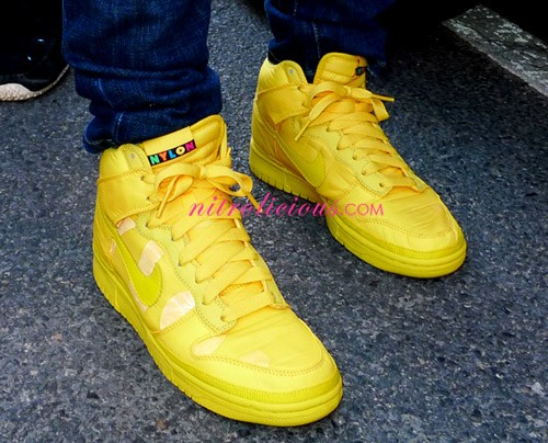 Nylon Magazine x Nike Sportswear Dunk High – Yellow