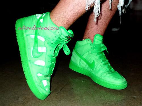 Nylon Magazine x Nike Sportswear Dunk High - Green