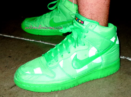 Nylon Magazine x Nike Sportswear Dunk High – Green