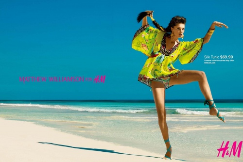 Matthew Williamson for H&M Summer '09 Collection – Ad Campaign
