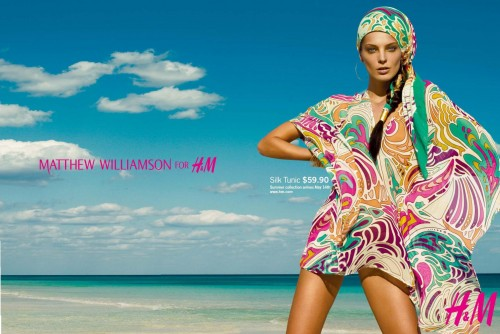 Matthew Williamson for H&M Summer '09 – Ad Campaign [Update]