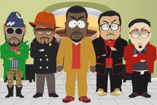 Kanye West on South Park