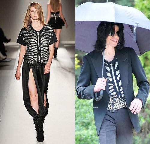 Michael Jackson Rockin' Balmain