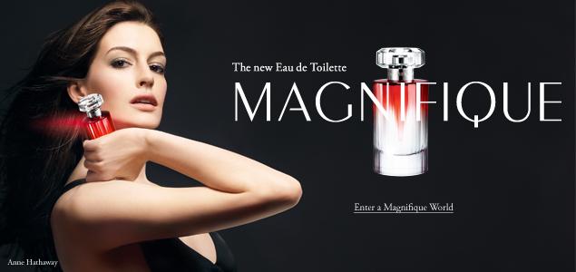 Anne Hathaway for Lancôme Magnifique [Commercial ...