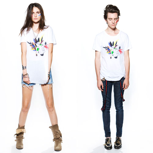 """LNA x Invisible DJ """"The Music Tee"""""""