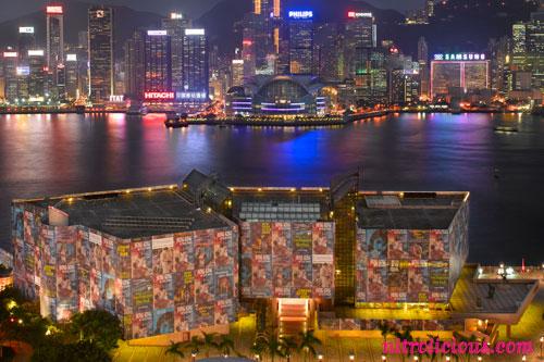 "Louis Vuitton Wraps Hong Kong Museum of Art w/ Richard Prince ""After Dark"""