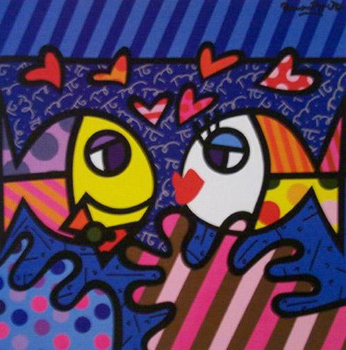 Fabrik Contempary Art Presents Romero Britto Exhibition