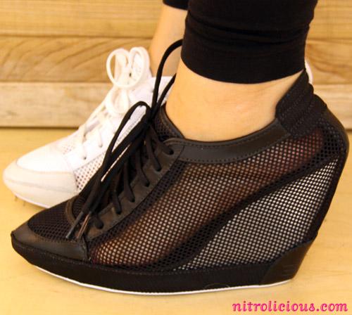4e6d6fb434 Adidas SLVR Mesh Wedge Sneaker - nitrolicious.com