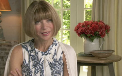 Anna Wintour in The September Issue [Trailer]
