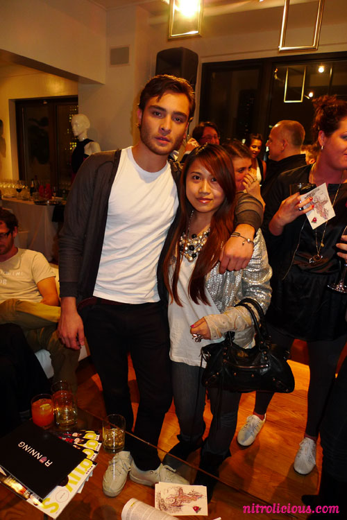 K-Swiss Classic Remastered After Party with Ed Westwick