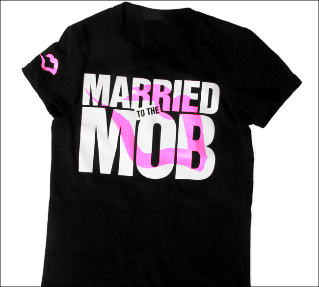 Married To The Mob Cherry bomb jersey. Want a jersey look for this Fall, but don't want to wear an actual heavy jersey. Pair this cute laid back tee with some jeans, or black leggings, and it's lightweight for those Indian summer nights/10(35).